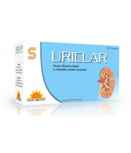Uriclar x 36cps (Sun Medic)