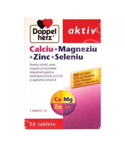 DOPPELHERZ Aktiv Ca+Mg+Zn+Se *30tb