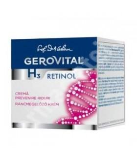 GEROVITAL H3 Cr. prevenire riduri*50ml