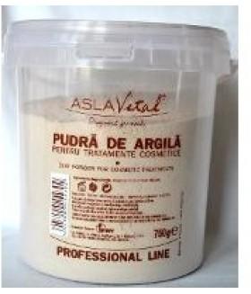 ASLAVITAL-PUDRA ARGILA TRAT 750G